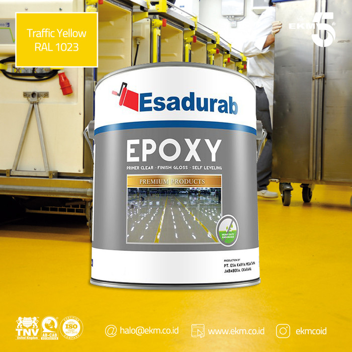 Jual Cat Epoxy Lantai Esadurab 5 Liter