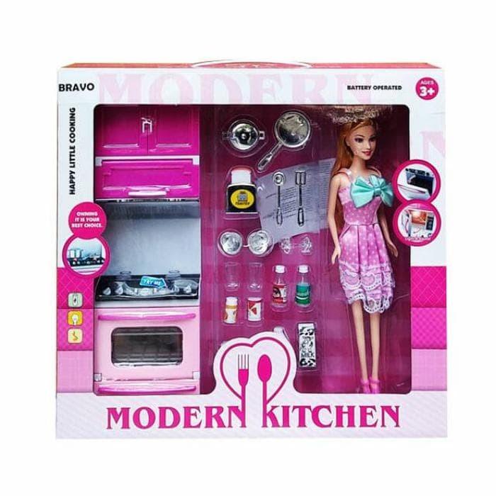 Barbie Masak Masakan Masak Memasak