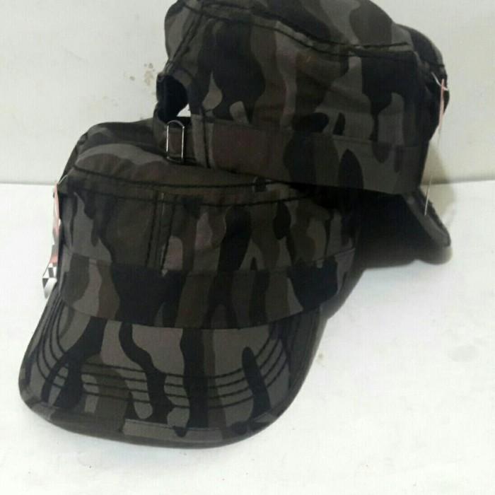 D   D Fashion Topi Komando Bahan Kanvas Hijau - harga dan kualitas ... f0af20831b