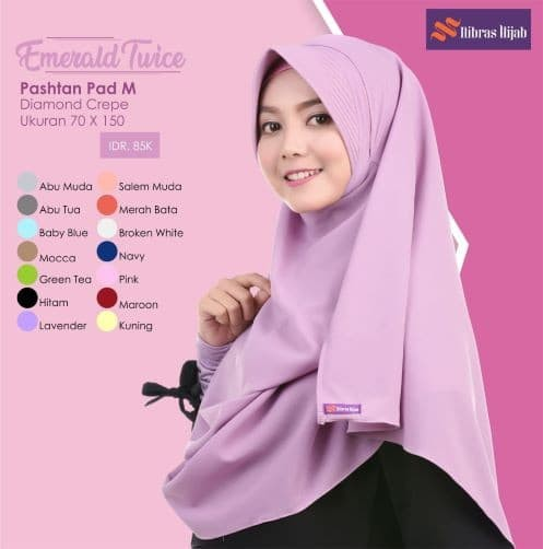 Spanduk Toko Jilbab Keren Terbaru - desain banner kekinian