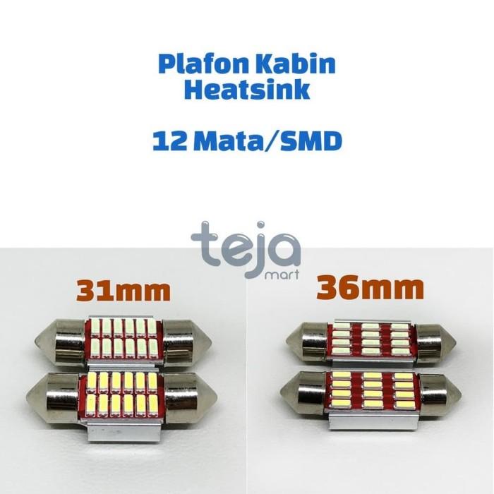 [Lampu LED] Lampu LED Plafon Kabin Cabin Festoon 31mm 31 12 10 SMD Mat
