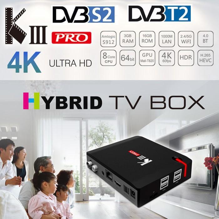 Jual Barang Ready !! Android TV BOX MECOOL KIII Pro DVB T2/S2 3G 16G OS 7 1  - DKI Jakarta - Lafidie Butiq | Tokopedia