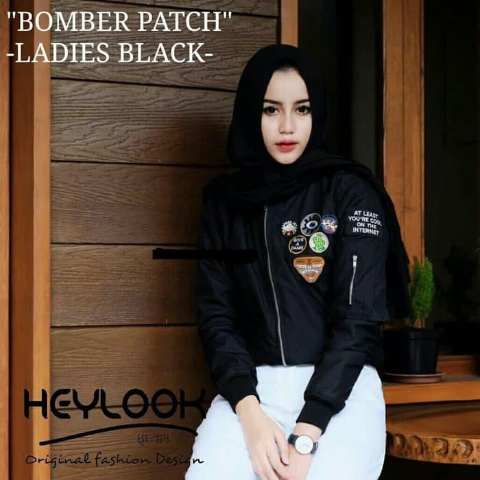 Jual JAKET BOMBER PATCH LADIES WANITA TERBARU BOMBER PRIA JAKET ... 7292cd5915