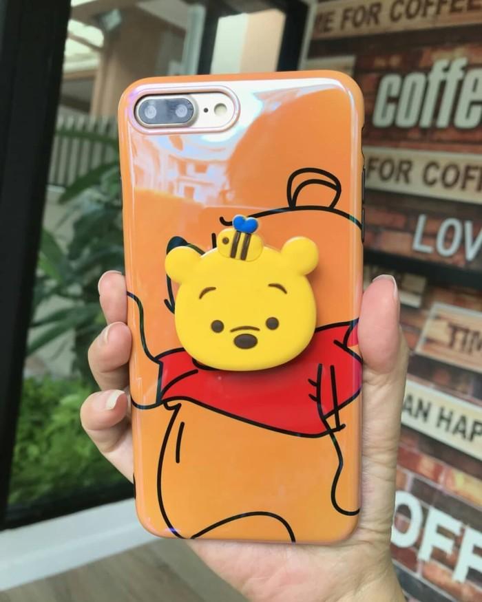 Xiaomi Redmi Mi Note 2 3 3s 4x 4 4A 2s A1 A2 case POPSOCKET POOH ... 0f3ec380abe9