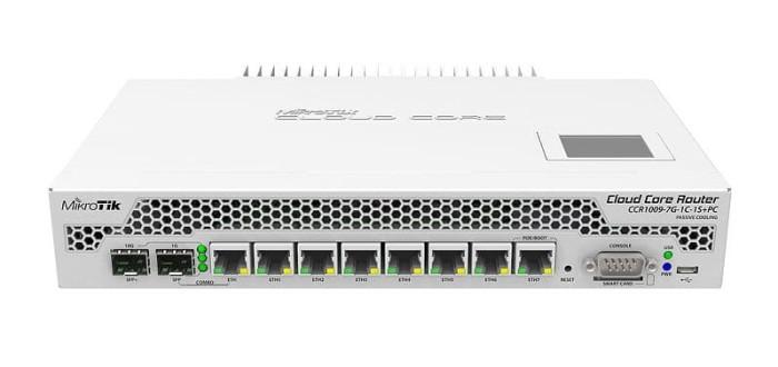 MIKROTIK Cloud Core Router CCR1009-7G-1C-1S Plus PC