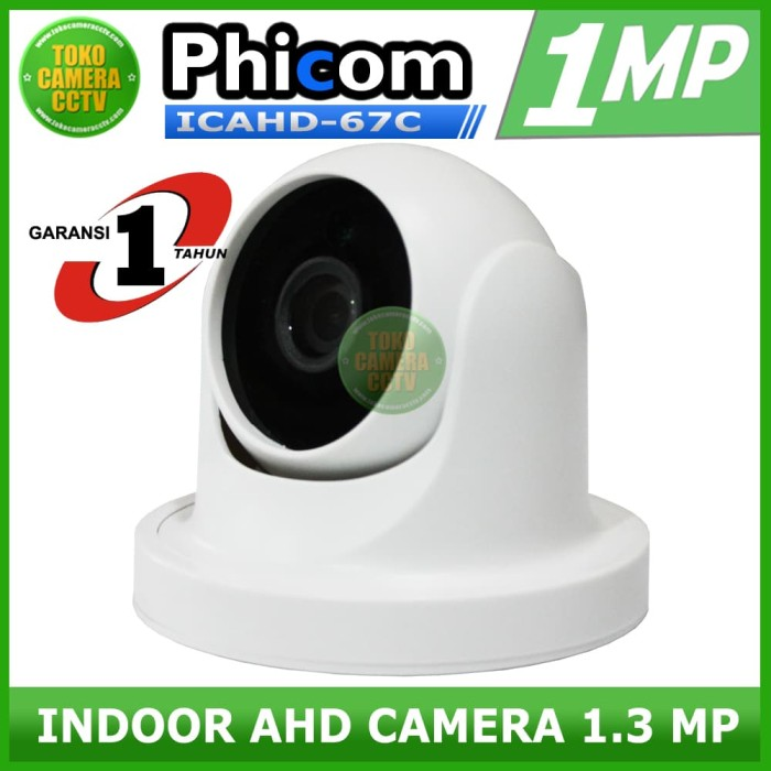 harga Cctv ahd 1.3mp indoor / camera ahd / cctv ahd Tokopedia.com