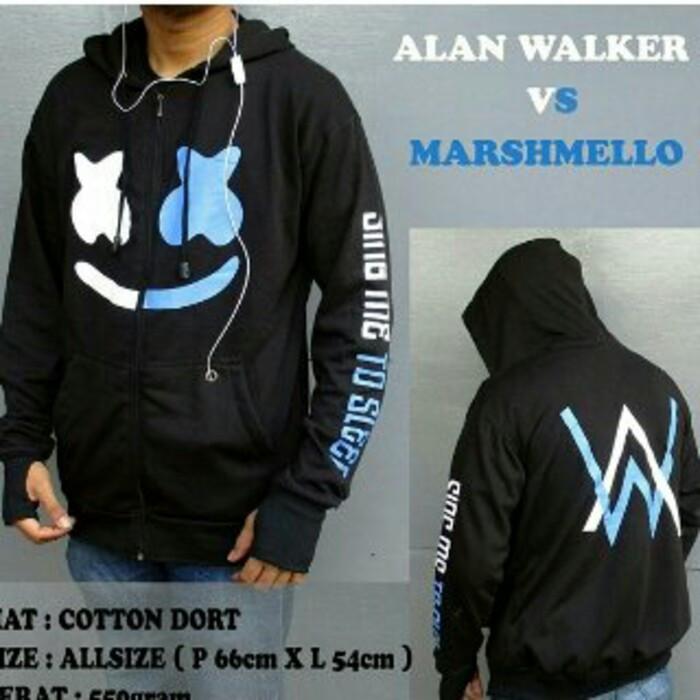 Jual Jaket Alan Walker Vs Marshmello Navy Kab Bandung Nengkhan Store Tokopedia