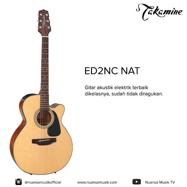 harga Takamine ed2nc acoustic electric guitars Tokopedia.com