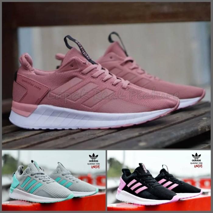 Adidas Climacool EQT Sepatu Running Sport Pria Wanita Sneakers Kasual -  Size Wanita d03545ce3e