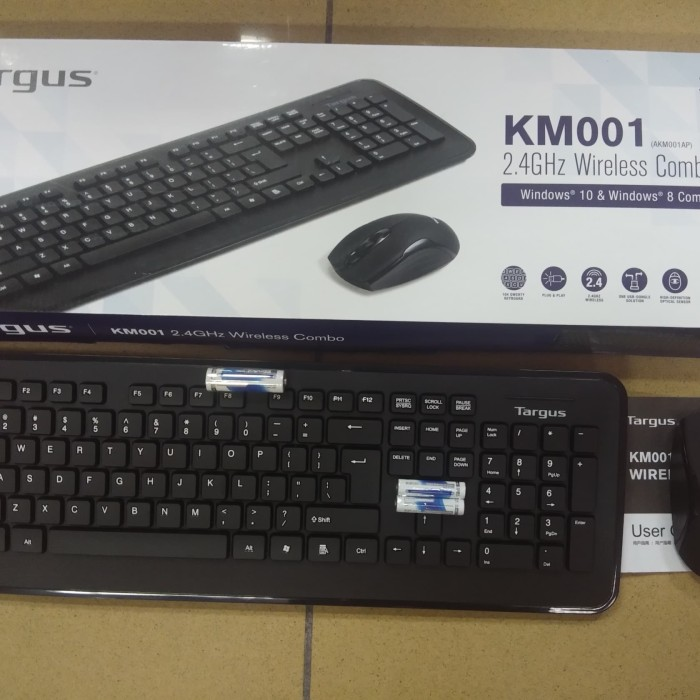87ce4149cba Jual Murah Targus Keyboard Wireless & Mouse Wireless KM001 Bundle Di ...