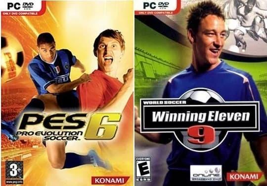 Jual CD Permainan Bola Pes 6 dan WE 9 Game PC Laptop Ringan - Kota Bandung  - KaiLLLda | Tokopedia