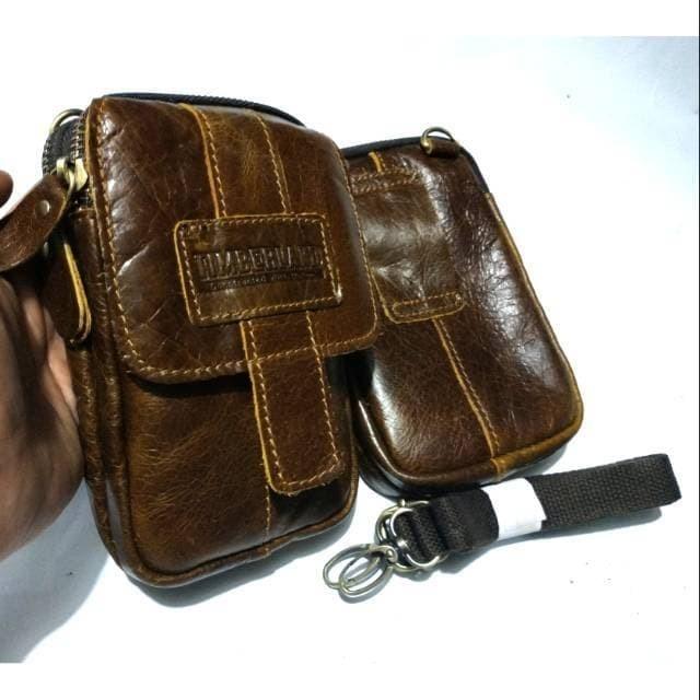 harga Sarung hp kulit asli timberland triple pouch 5-6.5 inch - dompet hp Tokopedia.com
