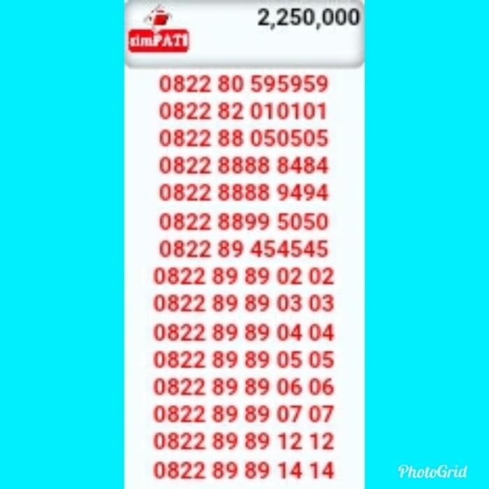 Nomor Cantik SimPati Triple AB 59.59.59(0822-80-595959)R92
