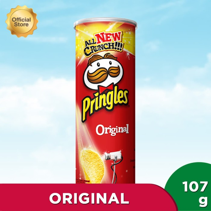 Pringles original 110gr (pe11007-8886467100017)