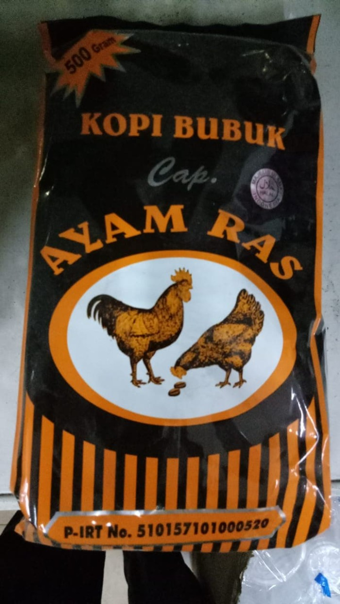 Jual Kopi Bubuk Cap Ayam Ras Asli Jambi 500gr Kota Jambi Jambi Herbal Shop