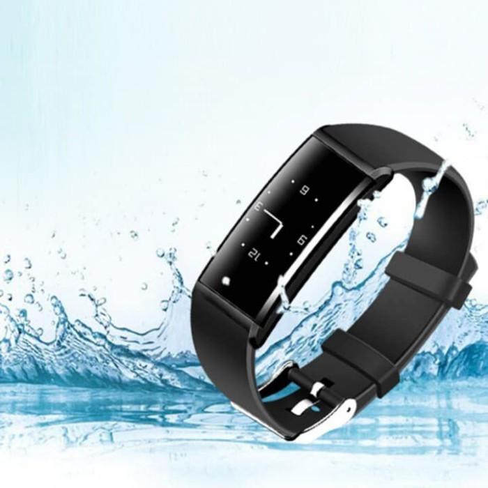 harga 2913 x9 smart watch sport wristband bracelet heart rate monitor Tokopedia.com