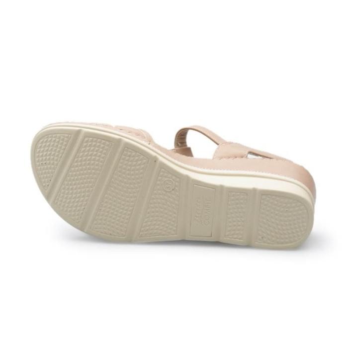 Jual BATA sepatu wedges wanita CEARA PINK 6615023 - Merah Muda 192b313ca0