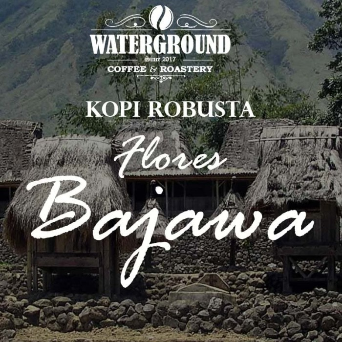 Kopi robusta flores bajawa 250gr indonesia coffee top quality