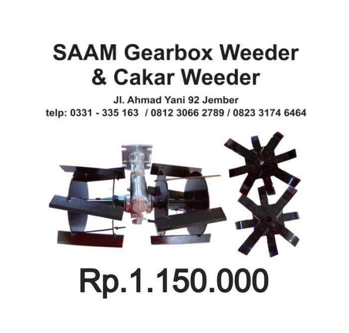 harga Paket gearbox roda cakar dan weeder - cultivator brush cutter Tokopedia.com