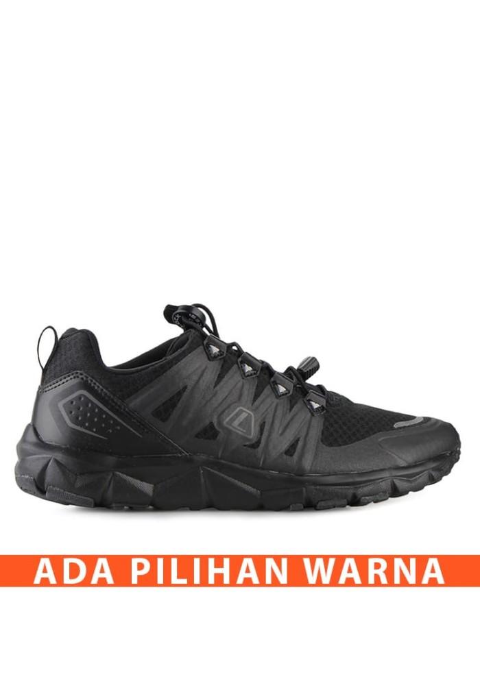 Sepatu Running LEAGUE Kumo 1.5 M Original Terbaru Olah Raga Lari Hitam 616f4d276b