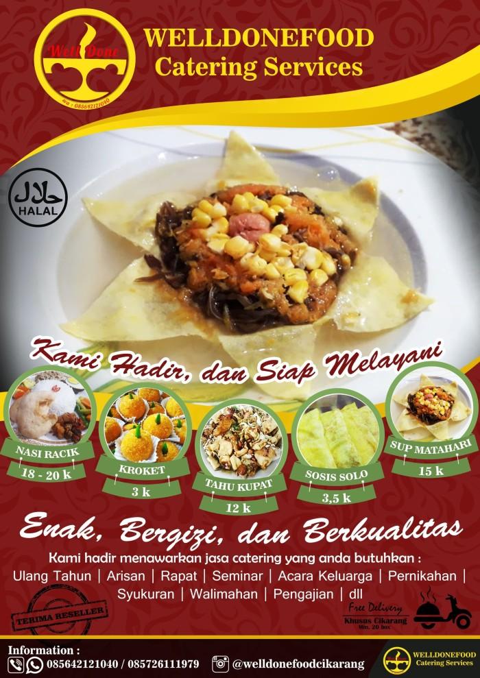 Jual Desain Brosur Catering Design Brosur Catering Jakarta