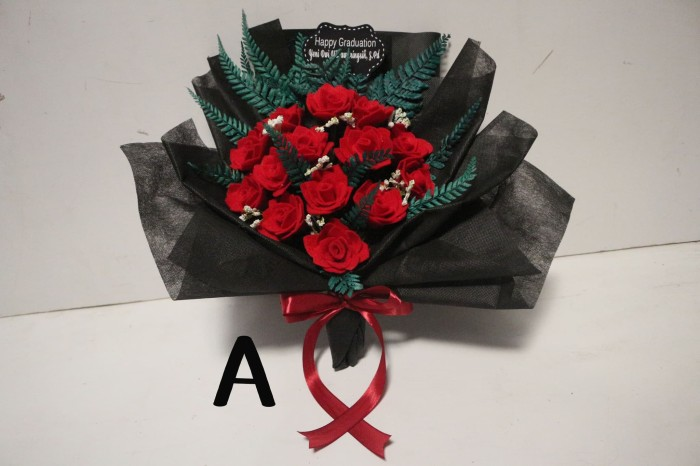 Jual Buket Bunga Flanel Kota Kediri Cherry Girl Gift Shop Tokopedia
