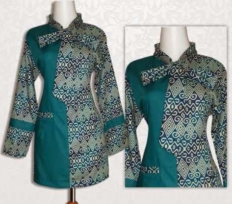 60 Contoh Baju Batik Untuk Kerja Terlihat Keren