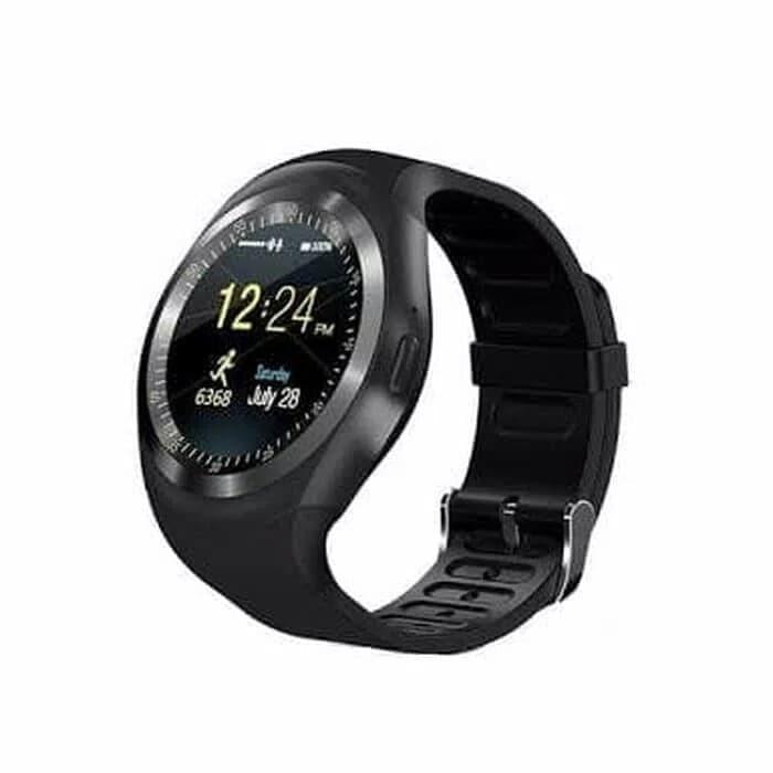 harga Smartwatch y1 black - hitam Tokopedia.com