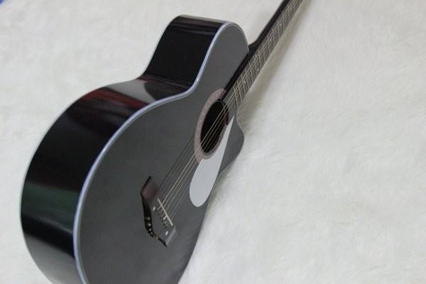 gitar akustik yamaha kopong hitam pemula murah bagus kado ultah