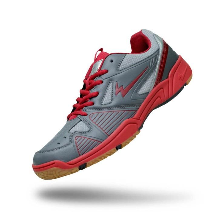 harga Sepatu eagle marcus – badminton shoes - dk grey dk red 43 Tokopedia.com