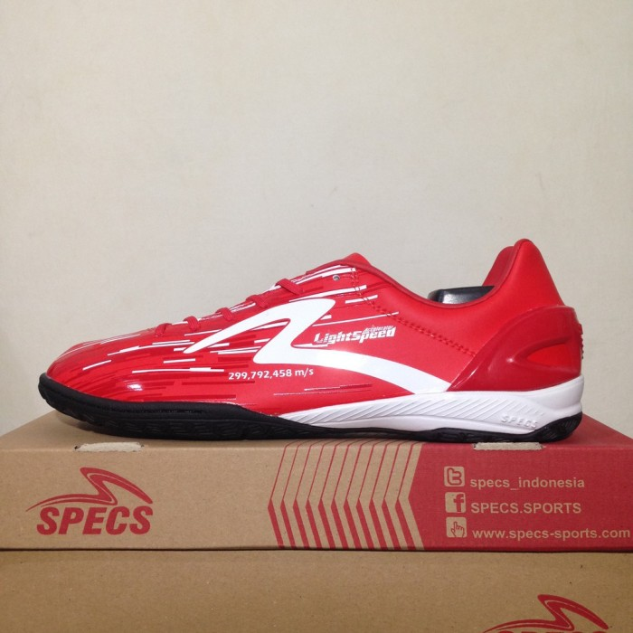 Jual Sepatu Futsal Specs Accelerator Lightspeed In Emperor Red