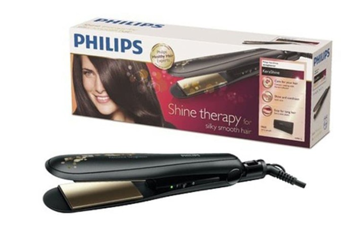 Jual Catokan Rambut Philips HP8348 00 – Hair Straightener - Happy ... 0bbed9239b7