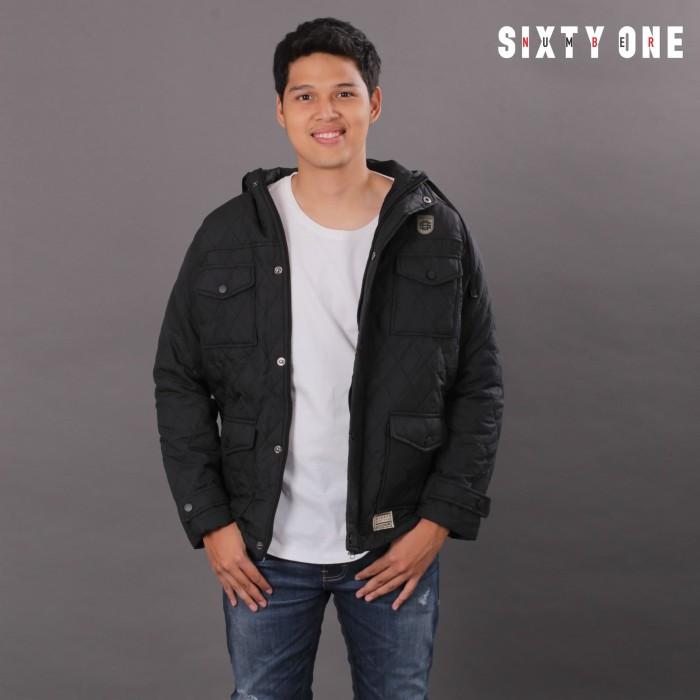 harga Number 61 official - jaket pria orion winter black Tokopedia.com