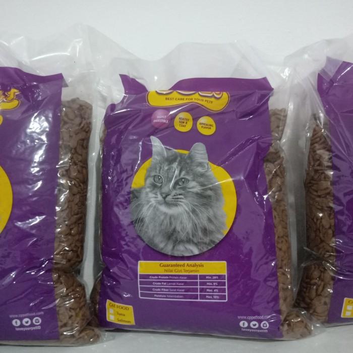 Jual Makanan Kucing Bolt 1 Kg Repack No Jio Maxi Universal Kab