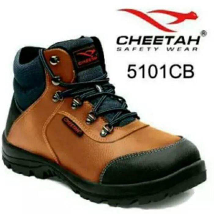 Jual Sepatu safety cheetah 5101 CB - Trimnunggal jaya safety  b14d12b2cc