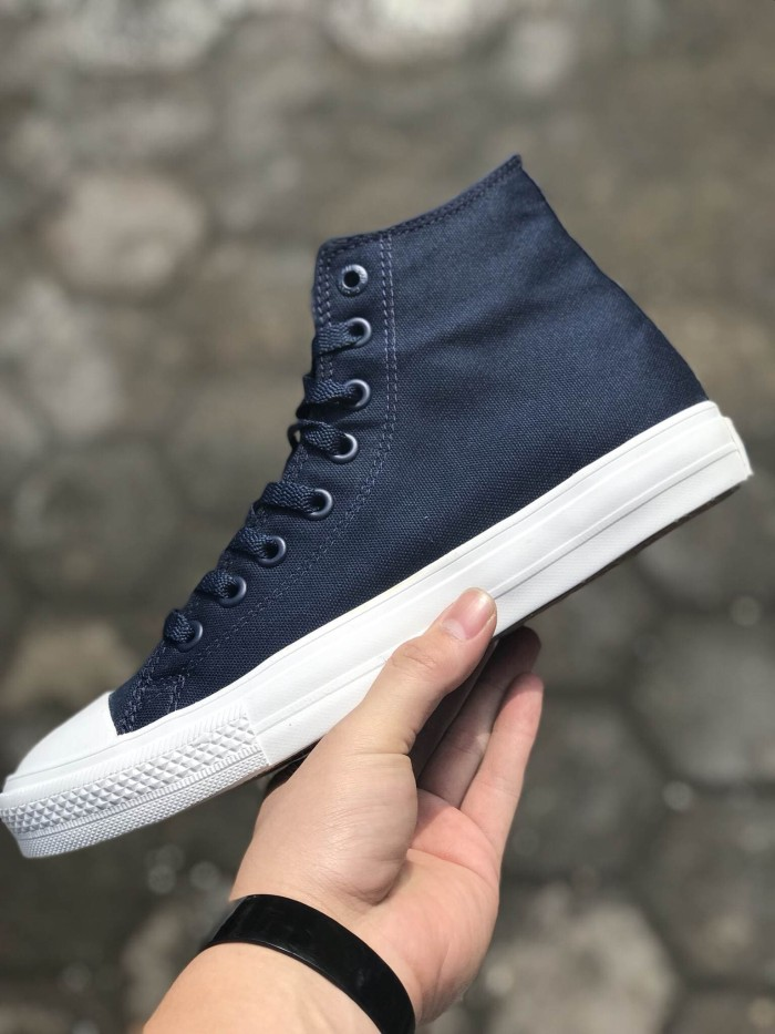 8e265126d0f Jual Sepatu Converse Ct2 ll Chuck Taylor High Dress Blue White ...