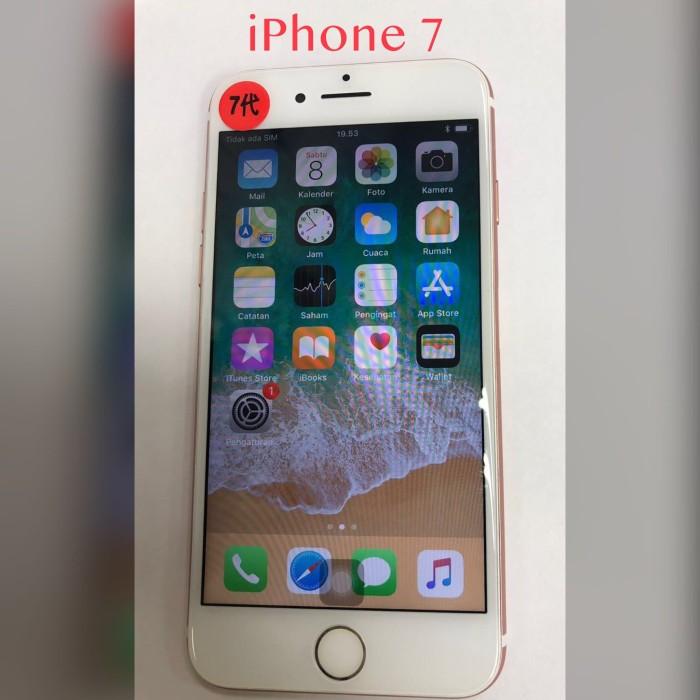 Jual HP iPhone 7 128GB NO FINGERPRINT SECOND BATANGAN ORI - ROSE ... b16f71f1a9