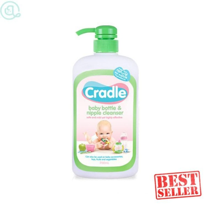 Cradle Bottle Cleanser 700ml Pembersih Botol & Dot LAVBABY