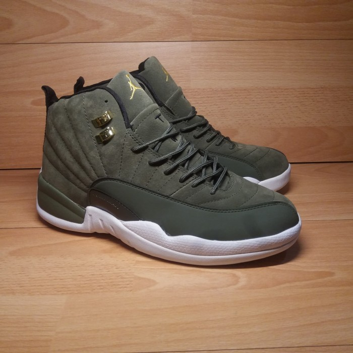 Jual sepatu jordan 12 retro green