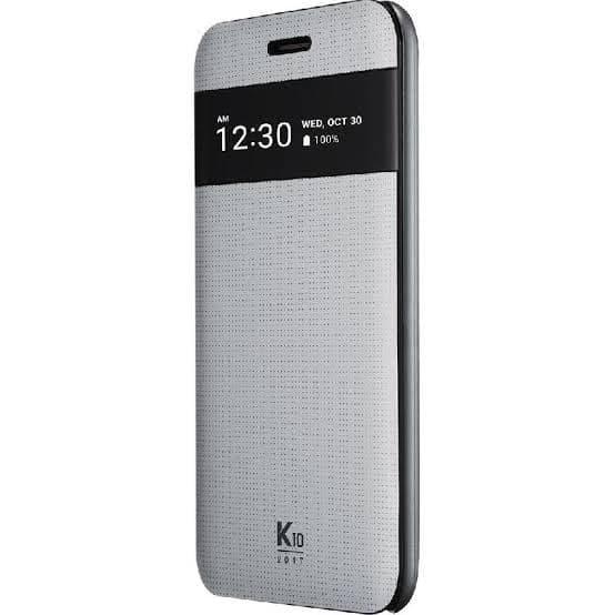pretty nice 2695f 815f8 Jual Cover LG k10 2017 - flip cover original LG K10 2017 - Wa kiki |  Tokopedia