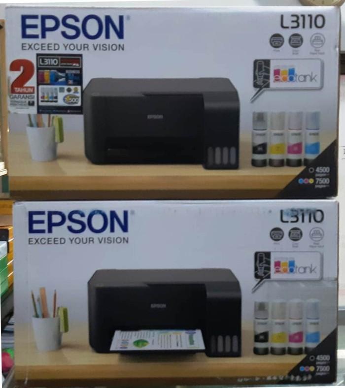 Jual Printer EPSON L3110 L 3110 ink tank all in one Print Scan Copy - Kota  Surabaya - gajahmadakomputer | Tokopedia