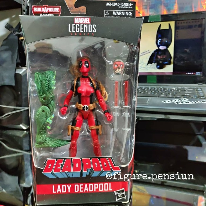 Marvel Legends DEADPOOL Series Classic Red Deadpool 2018 NIB