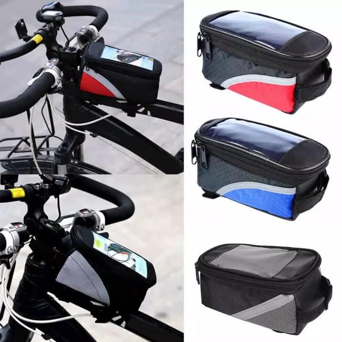 harga Tas handphone waterproof frame sepeda anti air layar sentuh Tokopedia.com