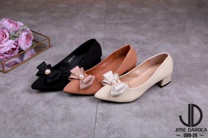 Jual Fashion Jose Daroca Pump Shoes Sepatu Kerja Wanita Branded