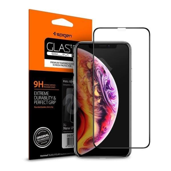 Foto Produk Tempered Glass SPIGEN iPhone XR Full Cover Glas.tr - ORIGINAL dari Spigen Indonesia