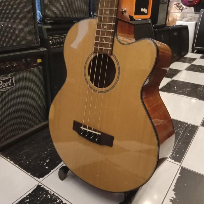 Jual Beli Gitar Bass Akustik Electrik Cort Ab850fnat Ab 850 F Nat