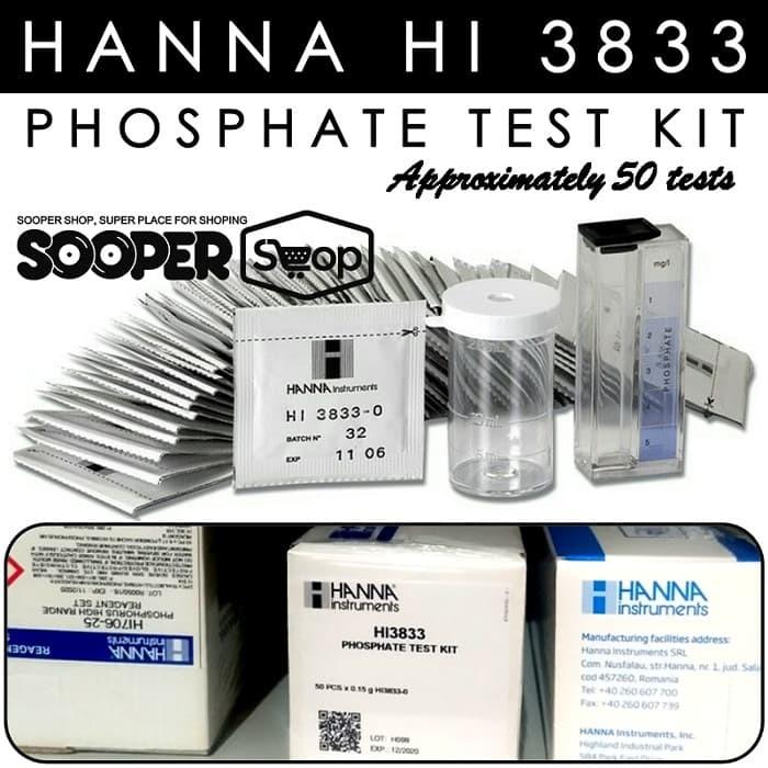 Foto Produk Testkit HANNA HI 3833 Phosphate Test Kit   Teskit utk Tes Uji Fosfat dari easytest