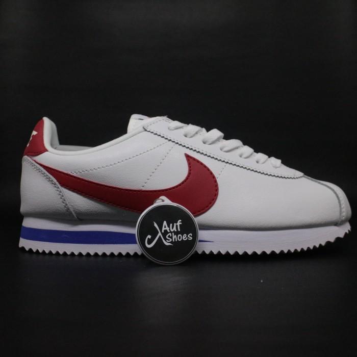 cheap price exquisite design high quality Jual Nike Cortez 72 Forrest Gump white red blue - Putih, 37 - DKI Jakarta -  AUF SHOES | Tokopedia