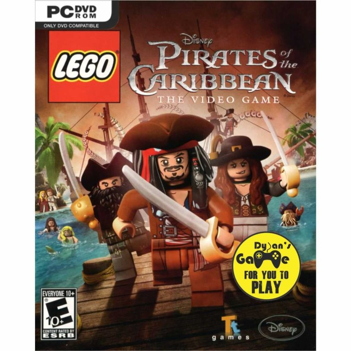 Jual Lego Pirates Of The Caribbean The Video Game Dvd Game Pc Pc