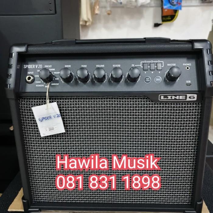 Jual LINE6 LINE 6 SPIDER V20 V 20 V Guarantee Ampli Gitar Amplifier Guitar  - Kota Surabaya - TIPTOP MUSIK&SOUNDSYSTEM | Tokopedia